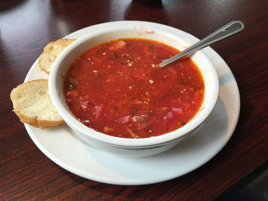 Taste of Europe Restaurant: Borsch
