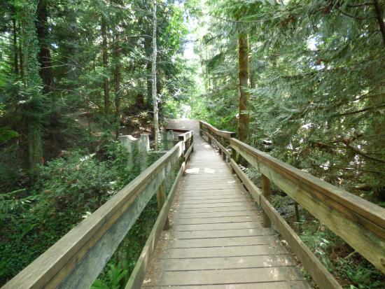 Nanaimo, Kanada: Trilhas