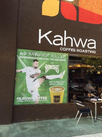 Exterior of Kahwa Coffee, St. Pete