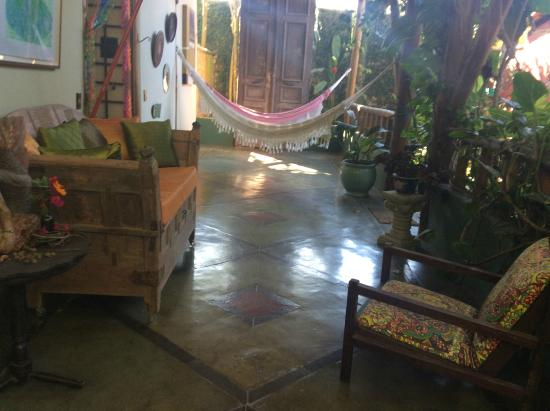 Hotel Pousada Guarana: pasillo de la posada