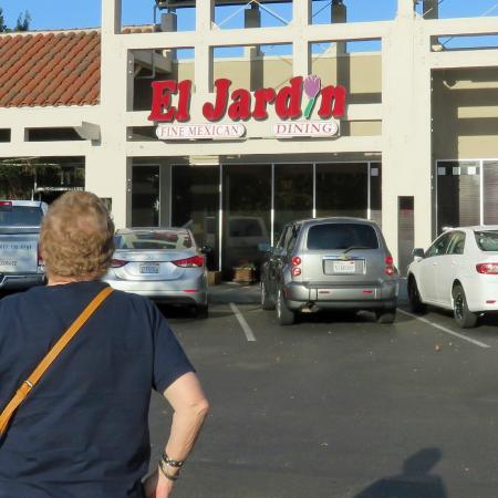 El Jardin Entrance To Restaurant