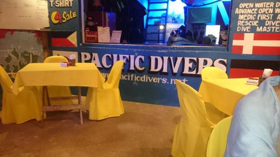 Pacific Divers: My fork broke!!
