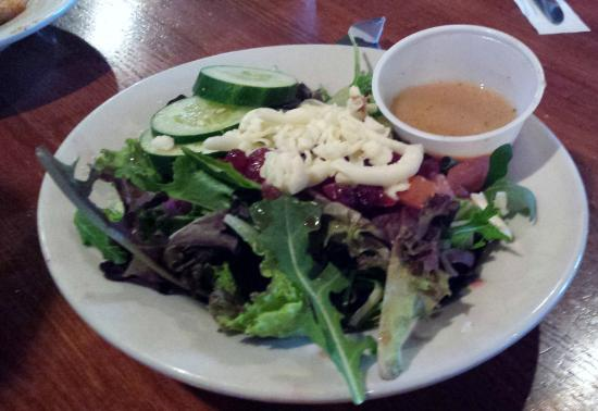 South Carver, MA: Smokin' Cranberry Side Salad