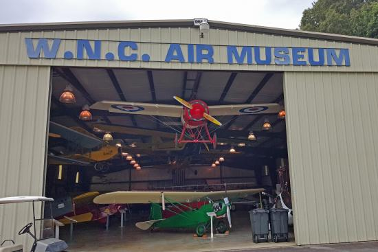 The Western North Carolina  Air Museum: The Museum