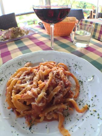 Ristorante La Casina: Pici all'aglione