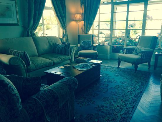 Blue Anchor, UK: Sitting room
