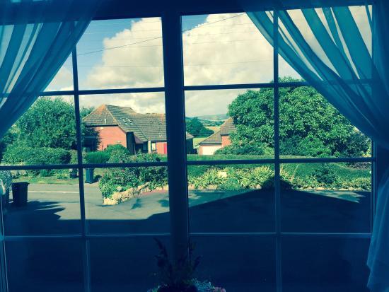 The Langbury: View from ground floor bedroom