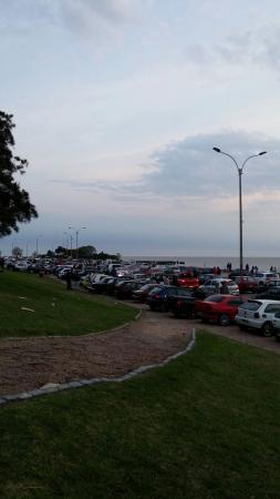 Rambla de Montevideo: Fim de tarde