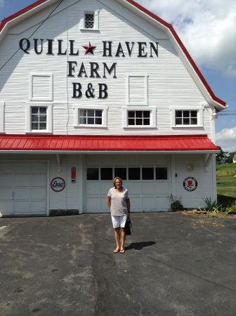 Quill Haven Country Inn: Beginning of a great weekend