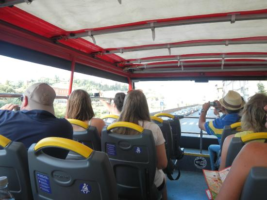 Guided Florence Tours: Florence, Hop On Hop Off Double Decker Bus