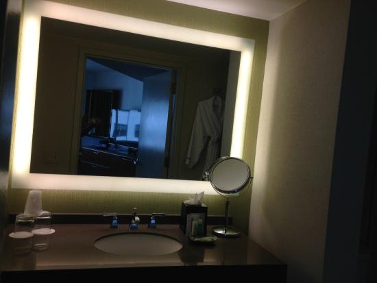 Lighted Mirror In The Bathroom Picture Of The Westin San