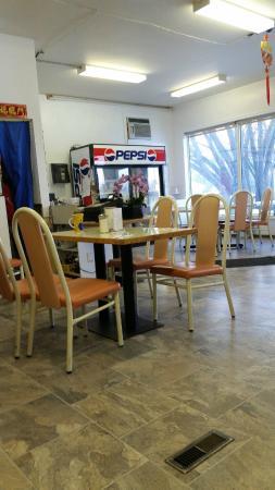 Oriental Chef Restaurant Interior View St Claude Manitoba
