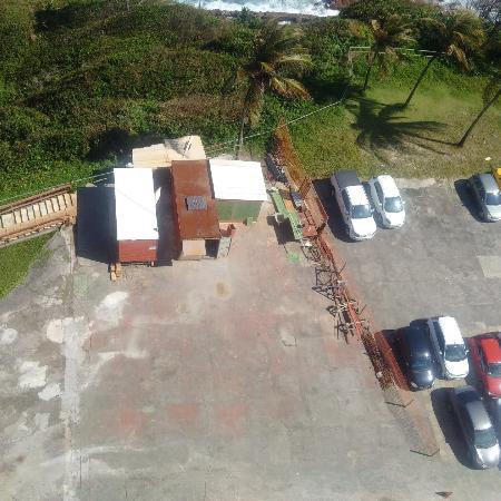 Bahia Othon Palace: Estacionamento