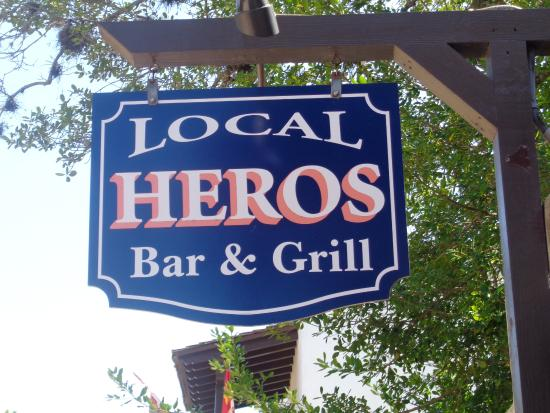Local Hero's Cafe: Sign to Look For - Enjoy!!