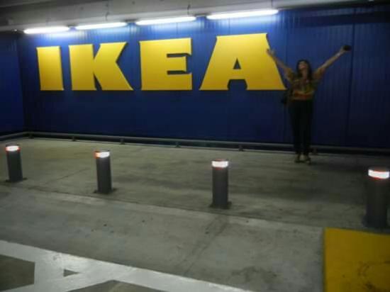 ikea showroom center