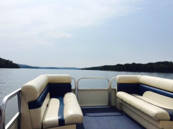 Henderson, Арканзас: View for the Day! Beautiful Norfork lake!