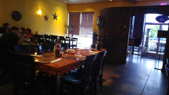 Amelia's Cocina Mexicana: The restaurant, other than on a Friday night it is very quiet and tranquil