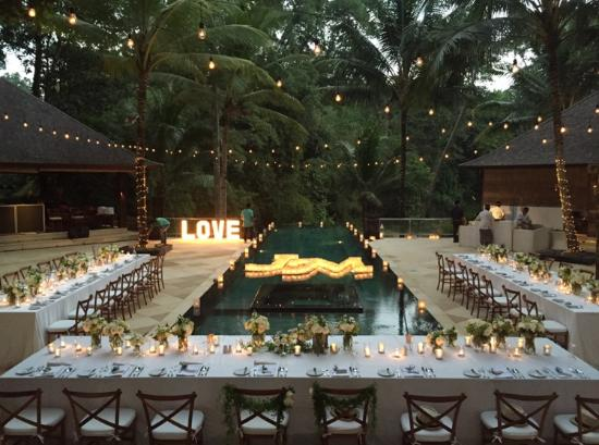 Wedding Reception Picture Of Villa The Sanctuary Bali Canggu