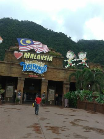 Lost World Of Tambun Ipoh Perak Entrance Picture Of Lost World