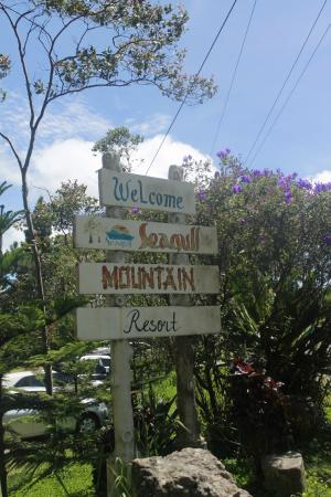 Seagull Mountain Resort: welcome sign