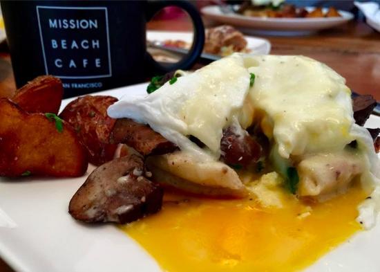 Mission Beach Cafe: Mi desayuno!