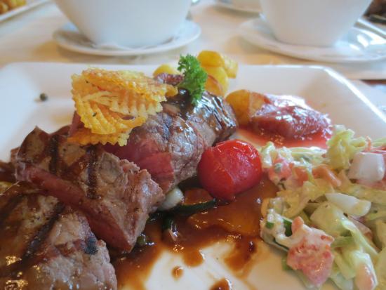Hotel Restaurant Het Witte Huis : Steak.