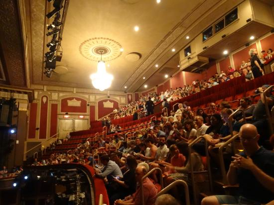 View Of The Front And Rear Mezzanine Picture Of Imperial Theatre New York City Tripadvisor