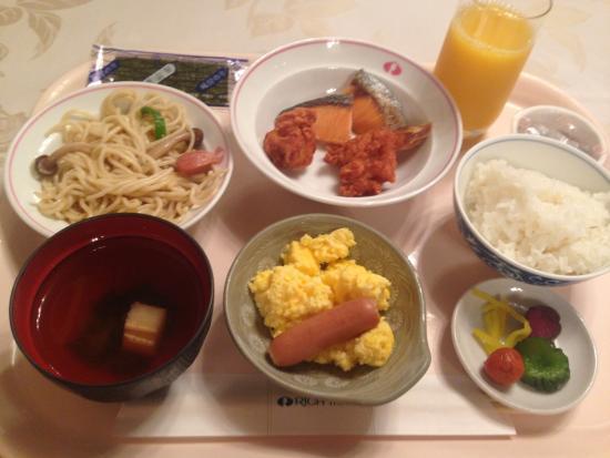 Kyoto Rich Hotel: 朝食