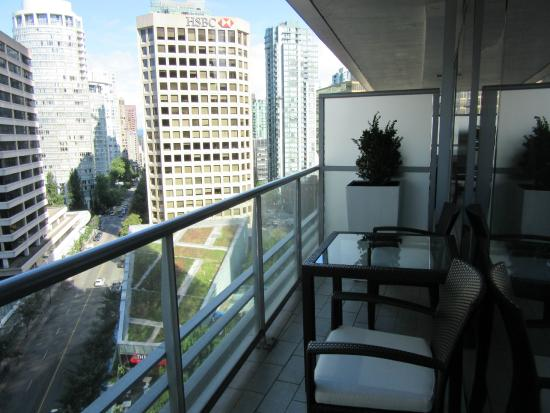 1 Bedroom Suite Balcony Picture Of Shangri La Hotel Vancouver