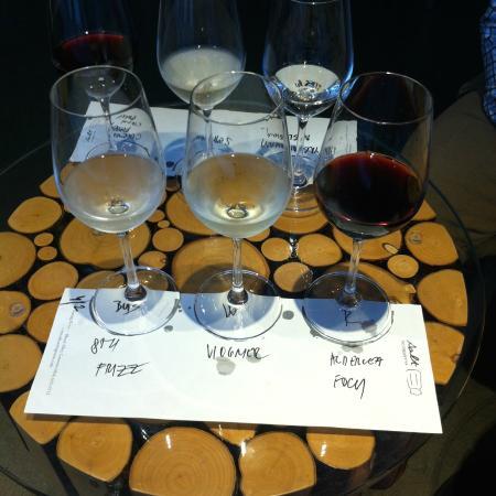 Salt Tasting Room Wine flight