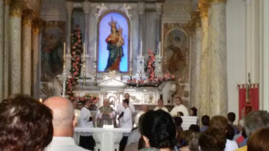 Conflenti, Ιταλία: Basilica Maria SS. delle Grazie della Quercia di Visora