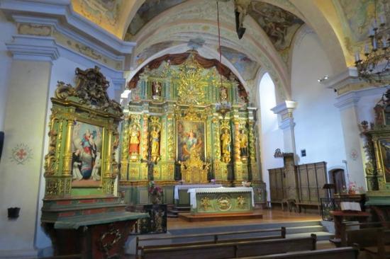Cordon, França: Main Altar