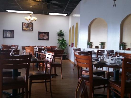 Truva Cafe Mediterranean Blue Ash