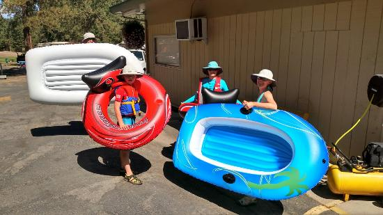 Leavenworth / Pine Village KOA : Meet you at the river!
