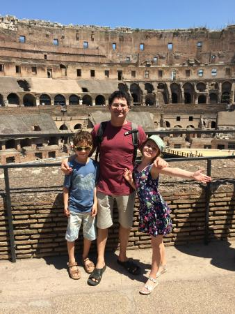 Italy With Us: Colosseum Tour