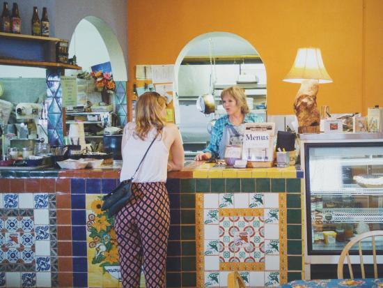 Villa Grove Trade counter