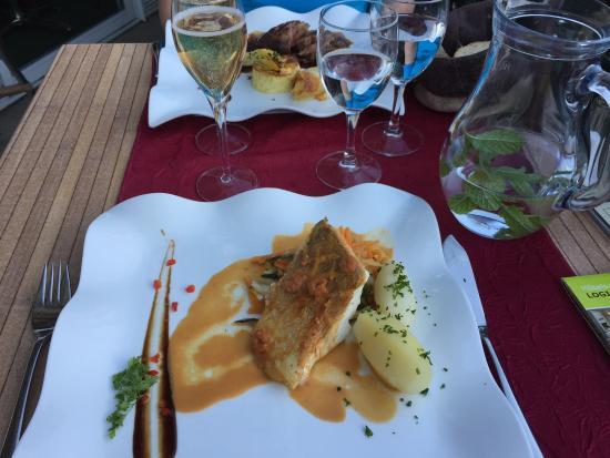 Bort-les-Orgues, Prancis: Leckere Sachen, der Fisch, die Muscheln -  am liebsten sofort wieder hin!