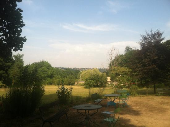 Domaine de Goules : The view from the veranda