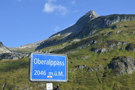Cartello Picture Of Oberalppass Andermatt Tripadvisor