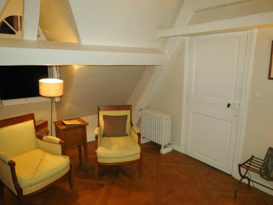 Chateau de Nazelles Amboise: Vielé-Griffin room