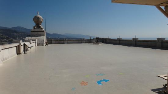Oceanographic Museum of Monaco: view from the roof top