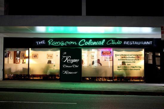 Rangoon Colonial Club Restaurant