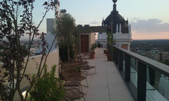 Terraza superior fotograf a de nice to meet you madrid madrid tripadvisor - Hotel mediterranea madrid ...