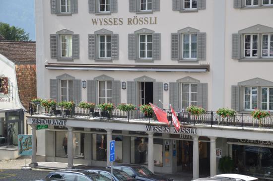 Hotel Wysses Rossli: Aspetto esterno