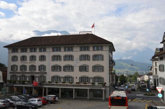 Hotel Wysses Rossli