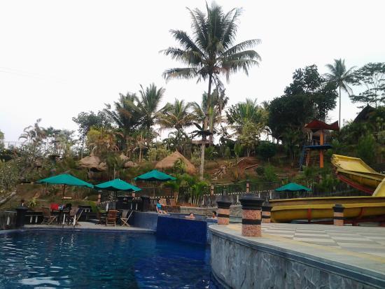 Kolam Renang Foto The Jhon S Cianjur Aquatic Resort