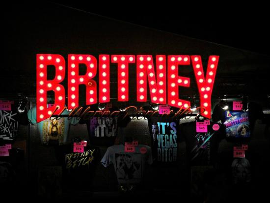 Merchandise Store Picture Of Britney Spears Piece Of Me Las Vegas Tripadvisor