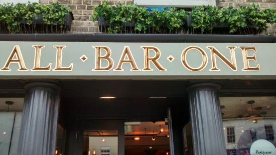 All bar one guildford