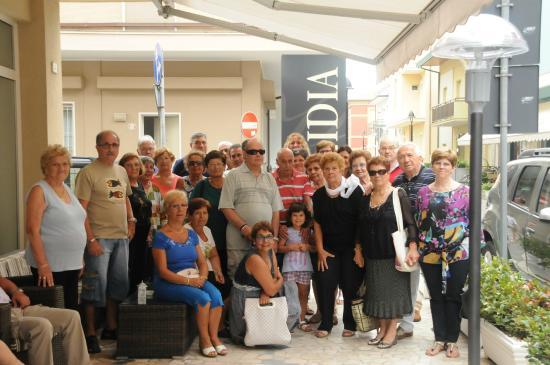 Hotel Lidia : Foto di gruppo