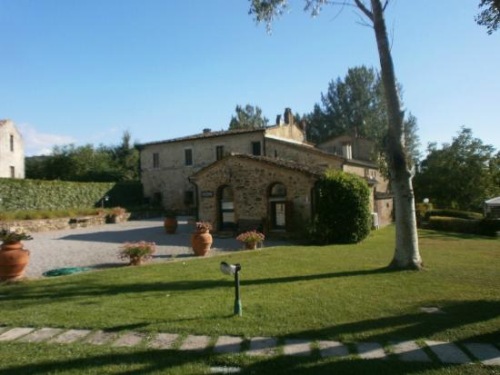 Podere Chiusella: location